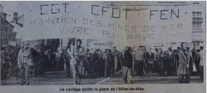 Photo du Courrier de l'Ouest du 7 Juillet 1977